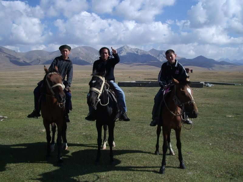 Song-kul Kyrgyzstan, August