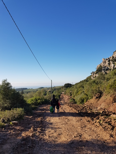 Exploring the semi-wild mountain roads of Del Estrecho Natural Park