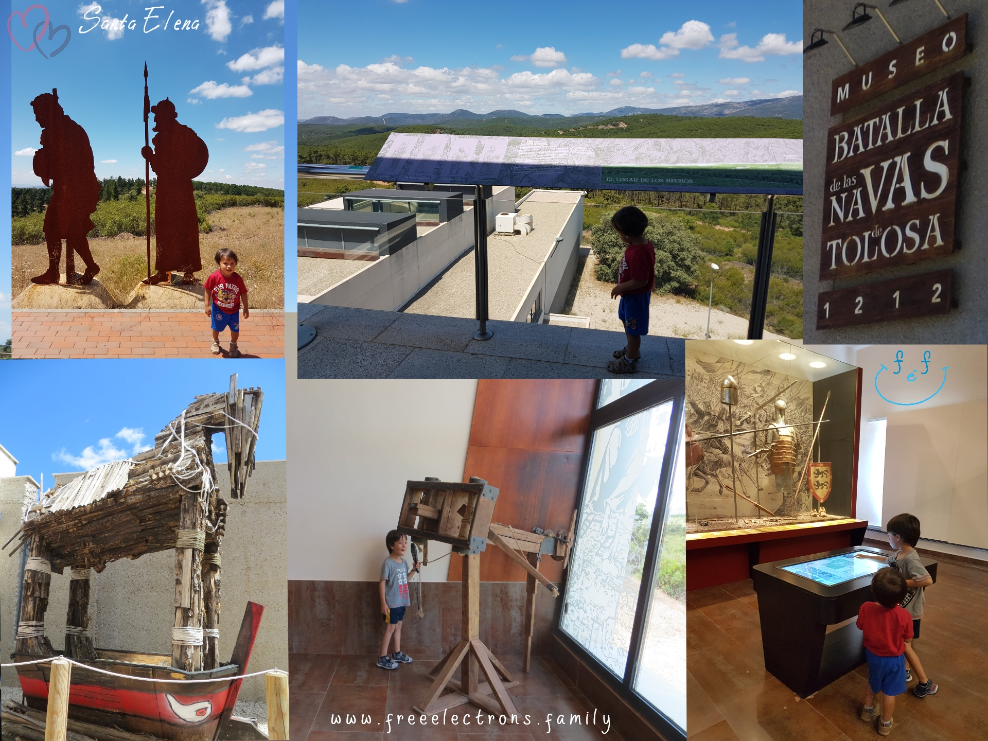 A #FreeElectrons.Family camping road trip Europe I stop in Santa Elena, Jaen, Spain.  Plenty of fun things to do and learn about at the museum of the Battle of the Navas Tolosa.