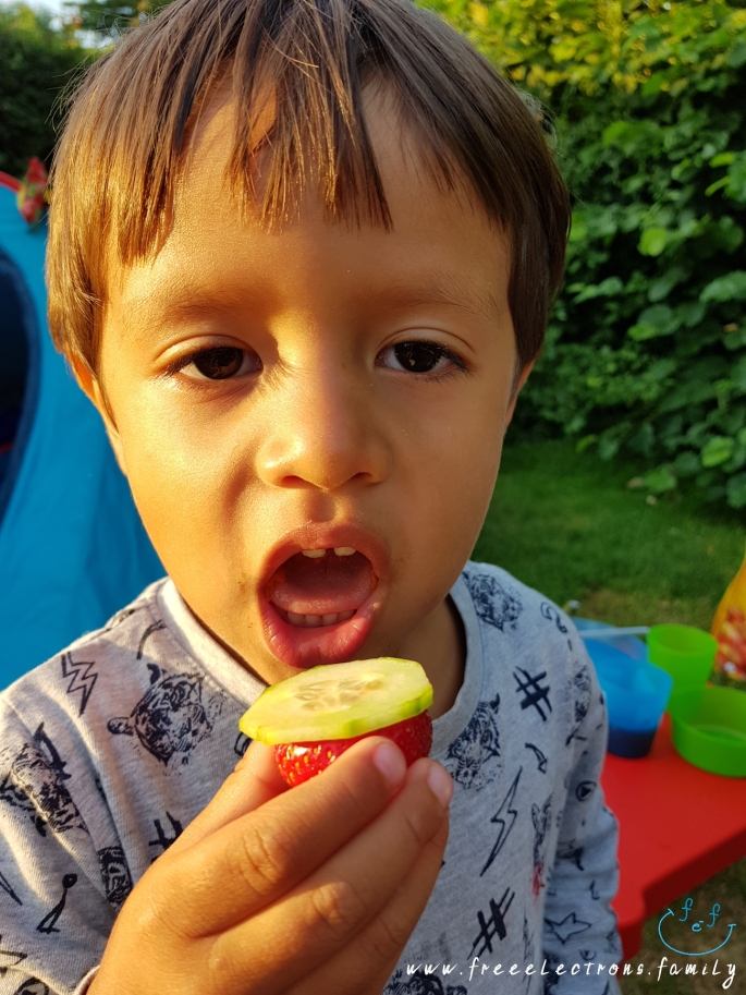 #FreeElectrons.Family - camping road trip Europe 2 eat healthy